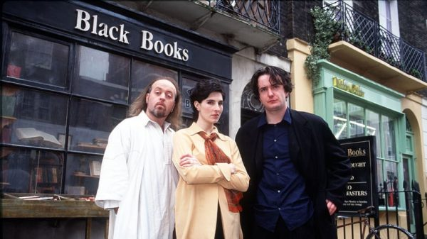 Picture from Black Books.
