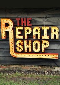 Picture The Repair Shop Wall Clock