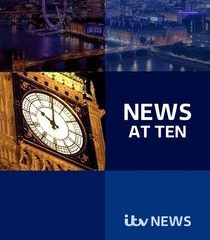 Picture ITV News at Ten 20/01/2021