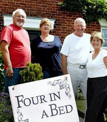 Picture Four in a Bed B&B at No 3